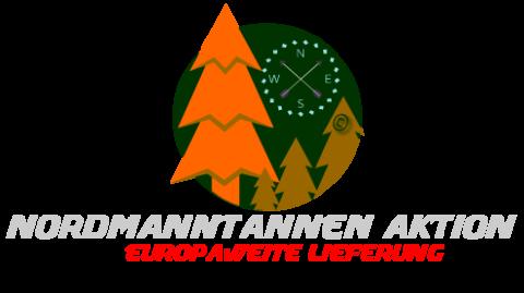 Nordmanntannen werden vom Baumstamm bis zur Baumkrone gemessen