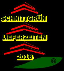 Wir beliefern unsere Kunden zum Wunschmonat im Jahr 2016 mit Schnittgrün europaweit