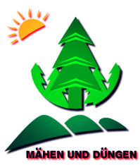 Weihnachtsbaum Feldarbeit: Mähen und Düngen