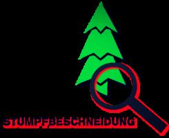 Weihnachtsbaum Plantagen Arbeit: Stumpf Beschneidung zur Weihnachtsbaum Belüftung