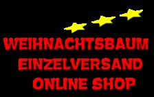 Weihnachtsbaum online einzeln bestellen im Online Shop